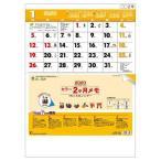 壁掛け カレンダー 2020 年 15ヶ月 カラー2ヶ月メモ シンプル オフィス 実用 書き込み 380×535mm トーダン
