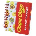チュッパチャプス メモ帳 マグネットカバー付き ミニリングメモ Chupa Chaps ドット 8.2×10cm
