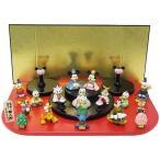 キャラクターひな人形 ディズニー Disney  15人 台段雛飾り ディズニー Disney  吉徳 ひな祭り ギフト雑貨