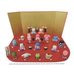 キャラクターひな人形 ハローキティ 15人 台段雛飾り 吉徳大光 グッズ ひな祭り ギフト雑貨