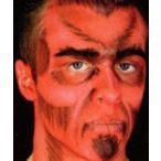 クリームメイクアップスタック デビル 4色セット Cream Makeup Stack, Devil, (1/8oz×4) CC015C   悪魔,ライニングカラー,ドーラン,特殊メイク