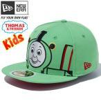 きかんしゃトーマス×ニューエラ 5950キッズ マルチロゴ ビッグフェイス パーシー グリーン Thomas & Friends×New Era 59FIFTY Kids Multi Logo Percy