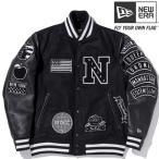 ニューエラ スタジアムジャケット フルパッチ ブラック ブラック ブラック ホワイト ホワイト New Era Stadium Jacket Full Patch Black Black Black White