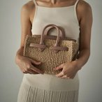 SEA '20-'21 PRE SPRING COLLECTION BASKET BAG  (Small) かごバッグS NUDE ヌード  (110520422) カゴバーキン