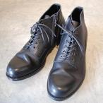 PADRONE パドローネ PU7358-1205-13D CHUKKA BOOTS with SIDE ZIP チャッカブーツサイドジップ / BAGGIO ブラック