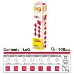 LaQ ラキュー Free Style フリースタイル 100 Red レッド 100pcs