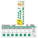 LaQ ラキュー Free Style フリースタイル 100 Green グリーン 100pcs
