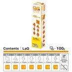 LaQ ラキュー Free Style フリースタイル 100 Orange オレンジ 100pcs