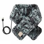 イデア idea ムーミン×BRUNO USB ネックウォーマー ブルー BOA121-MBL