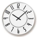 レムノス Lemnos エキクロック eki clock ホワイト TIL16-01 WH *受注後に納期をお知らせ致します。【送料無料】