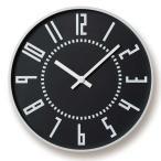 レムノス Lemnos エキクロック eki clock ブラック TIL16-01 BK *受注後に納期をお知らせ致します。【送料無料】