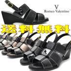 ショッピングウエッジ ウエッジサンダル/バックストラップ/romeo valentino(ロメオバレンチノ)153201