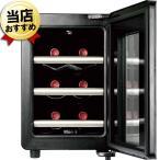 ワインセラー 家庭用 激安 +LOUNGE 6本収納 ワインクーラー おすすめ LNE-W306B ワイン冷蔵庫