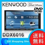 ケンウッド カーオーディオ 2DIN 本体 新品 7V型 DVD/CD/USB/iPodレシーバー DDX6016 (送料無料)