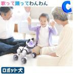 ロボット ペット 犬 おもちゃ 介護 癒し 高齢者向け 電池式 歌って踊ってわんわん RI-W01 (お取寄せ)