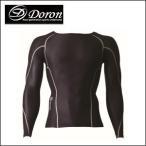 ドロン LIFE Men's ロングスリーブシャツ ブラック  Doron Black