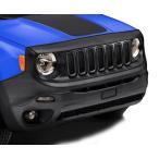フルブラ MOPAR Jeep US純正アクセサリー BUレネゲード ロンジチュード/リミテッド ノーズブラ フロントエンドマスク 北米仕様 フードプロテクター