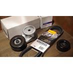 ドライブベルト3点セット Continental ACDelco 90-95TBI ファンベルトテンショナー アイドラプーリー C1500 K1500 サバーバン タホ ユーコン K5ブレイザー