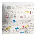 ショッピングカバー IKEA イケア 掛け布団カバー&枕カバー マルチカラー30329656 HEMMAHOS