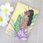 ノート かわいい ハワイアン雑貨 maunaloa マウナロア A5 アロハノート M Su Hulagirl フラガール おしゃれ かわいい