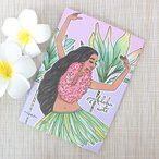 ノート かわいい ハワイアン雑貨 maunaloa マウナロア A5 ハワジャン アロハノート おしゃれ