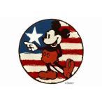 ディズニー ミッキー マット 60×60cm おしゃれ 防ダニ 滑り止め レッド ファーストスターマット DMM-4049 スミノエ