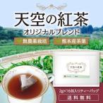 ショッピング紅茶 国産紅茶  オリジナルブレンド ティーパック 2g×16ヶ入 熊本産 無農薬栽培 送料無料