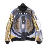 未使用 UNDERCOVER アンダーカバー ボンバージャケット UCV4202-1 リバーシブル 2001年宇宙の旅 HAL9000 ブラック 黒 3 メンズ  中古 20012706