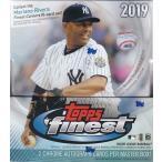 Yahoo!トレカショップ CLEAR FILE【お取り寄せ】 MLB 2019 TOPPS FINEST BASEBALL 1BOX