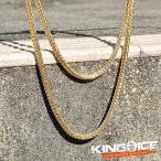 KING ICE キングアイス ネックレス ゴールドチェーン FRANCO HIPHOP CHAIN 55cm×3mm