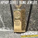 KING ICE キングアイス ネックレス ゴールドチェーン ゴールドバー 金塊 14金メッキ