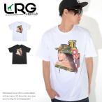 LRG エルアールジー Tシャツ 半袖 アーミーガールイラスト 縦LRGロゴ (A201037) セール