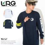 LRG エルアールジー ロンT ロングTシャツ 長袖 左胸サークルロゴ アームプリント (H191017) セール
