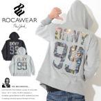 ロカウェア ROCAWEAR ZIPスウェットパーカー バックBKNY 99 スクリーンシティ 胸Rロゴ刺繍 (RW171K07)