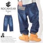 ロカウェア ROCAWEAR ジーンズ デニム バギーパンツ ダブルRロゴ刺繍 極太 BAGGY(R1601J205)