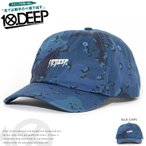 10DEEP テンディープ ローキャップ 帽子 アジャスターバック 総柄 迷彩 センターロゴ刺繍 (173TD6205)