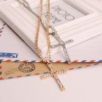 メンズシルバーネックレス ペンダント 十字架 クロス シンプル ワイルドスピード ヴィン・ディーゼル ドミニク モデル メンズ レディース
