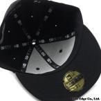 Yohji Yamamoto(ヨウジヤマモト) x NEW ERA(ニューエラ) SIGNATURE 59FIFTY CAP (ニューエラキャップ) BLACK 250-000365-041x【新品】 (ヘッドウェア)
