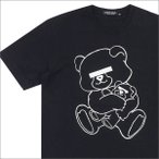UNDERCOVER(アンダーカバー)  NEU BEAR Tシャツ  BLACK 200-004055-034x【新品】(半袖Tシャツ)