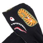 A BATHING APE (エイプ)  SHARK FULL ZIP HOODIE (シャークパーカー)  BLACK 1C20-115-018 212-000978-041+【新品】(SWT/HOODY)