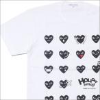 COMME des GARCONS(コムデギャルソン)  HOLIDAY emoji 18 HEART TEE(Tシャツ)  WHITE 200-007241-040+【新品】(半袖Tシャツ)