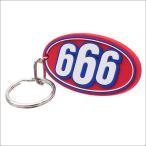 SUPREME(シュプリーム)  666 Keychain (キーチェーン)(キーホルダー)  RED 278-000431-013+【新品】(グッズ)