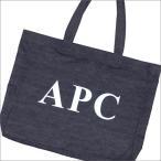 A.P.C.(アーペーセー)  APC LOGO TOTE BAG (トートバッグ)  INDIGO 277-002382-017+【新品】(グッズ)