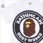A BATHING APE (エイプ)  BIG BUSY WORKS TEE (Tシャツ)  1D30-110-079 200-007397-05