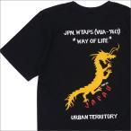WTAPS (ダブルタップス)  DRAGON/TEE.SS (Tシャツ)  171PCDT-ST08S  BLACK 200-007466-031-【新品】(半袖Tシャツ)