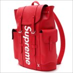 SUPREME(シュプリーム) x LOUIS VUITTON(ルイ・ヴィトン) Christpher Backpack PM (バックパック) RED 276-000272-013+【新品】(グッズ)