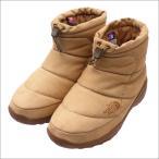 ショッピングNORTH THE NORTH FACE PURPLE LABEL (ザ・ノースフェイス パープルレーベル) Nuptse Bootie WP Leather (ブーツ) BROWN 298-000033-266x【新品】(フットウェア)