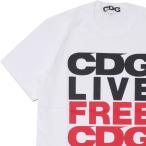 CDG(シーディージー) C.L.F.C.C. TEE (Tシャツ) WHITE 200-007944-040+【新品】 COMME des GARCONS(コムデギャルソン)(半袖Tシャツ)