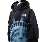 新品 シュプリーム SUPREME x ザ ノースフェイス THE NORTH FACE 19FW Statue of Liberty Mountain Jacket ジャケット BLACK 新作 228000185131 OUTER