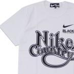 新品 ブラック コムデギャルソン BLACK COMME des GARCONS x ナイキ NIKE Country TEE Tシャツ WHITE ホワイト 白 200008516040 半袖Tシャツ